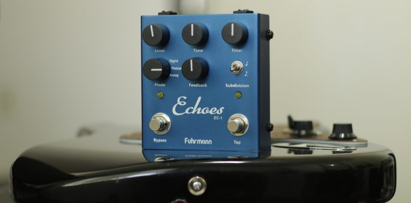 Review do pedal Fuhrmann Echoes Delay