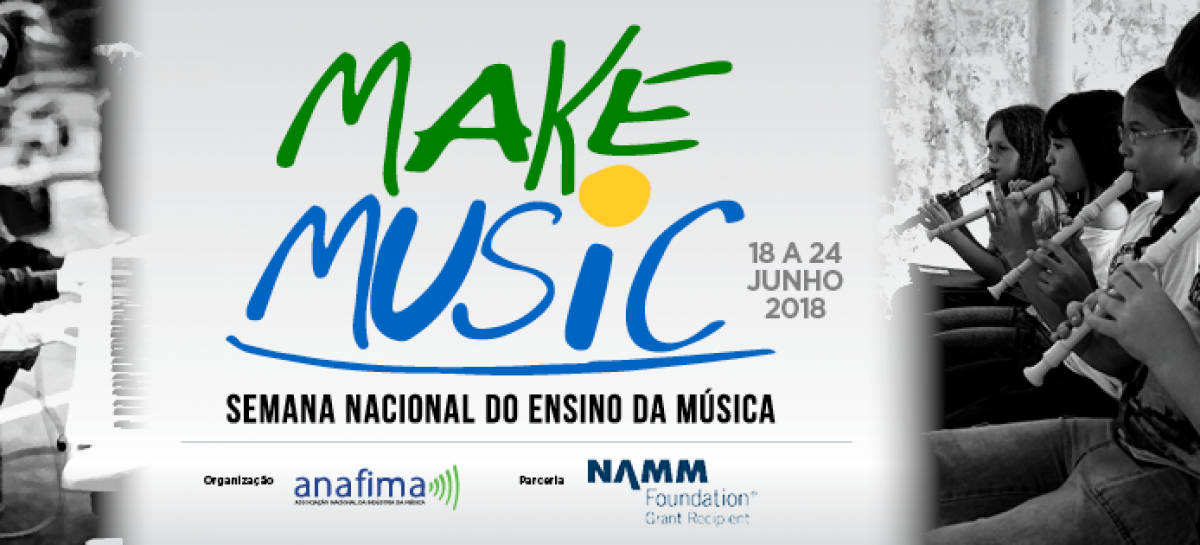 Make Music Brasil: Semana Nacional do Ensino da Música