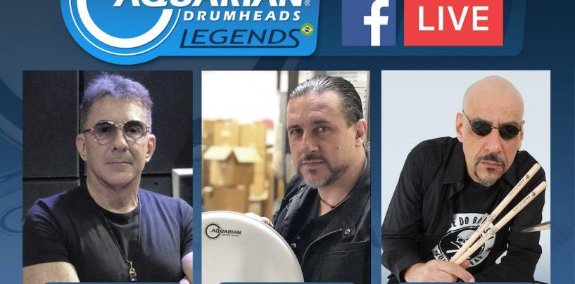 Dois novos endorsees para Aquarian Drumheads