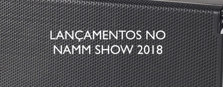 Produtos lançados no NAMM Show 2018