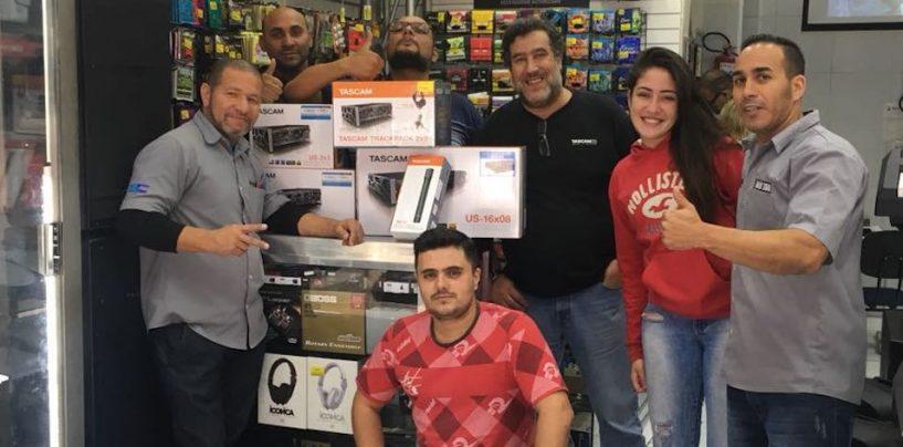 Ninja Som é revenda exclusiva da Tascam para São Paulo