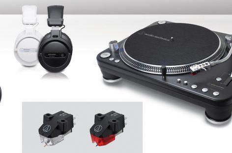 Audio-Technica distribui sua nova linha de produtos para DJs