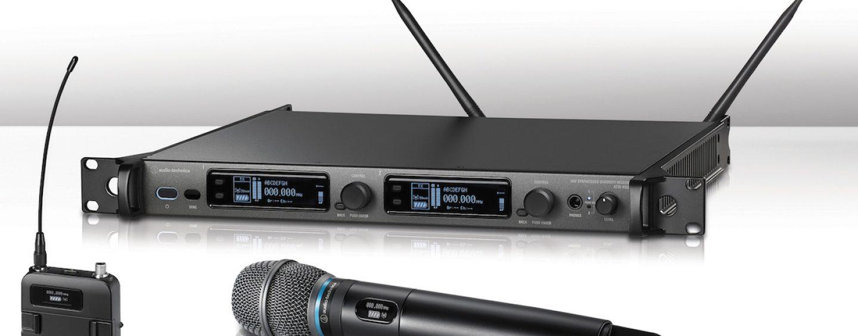 InfoComm: Audio-Technica exibe os sistemas sem fio da terceira geração da série 5000