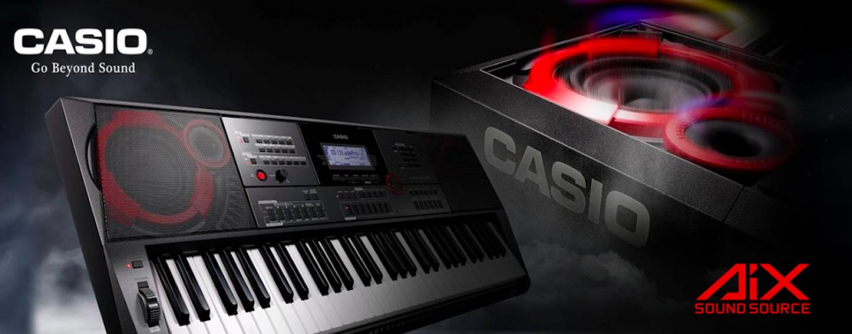 Casio lançou linha de teclados CT-X em evento especial