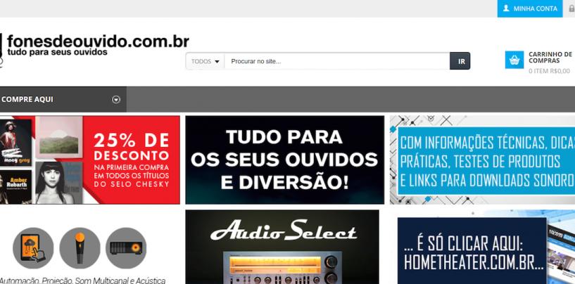 Lançamento do site fonesdeouvido.com.br– Tudo para os seus ouvidos