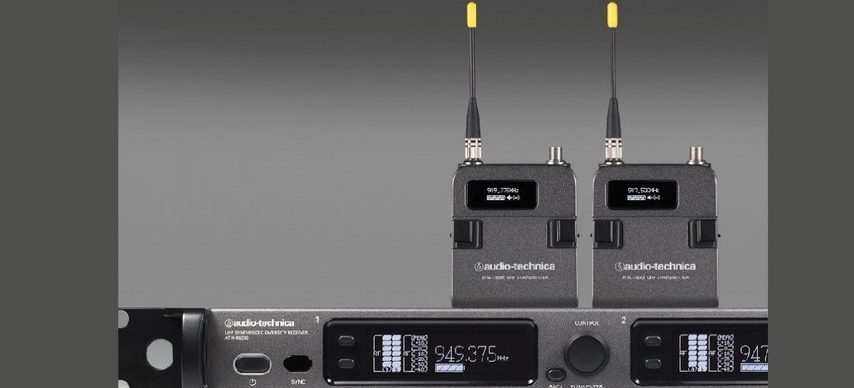 Transmissor de mão da série 6000 da Audio-Technica disponível