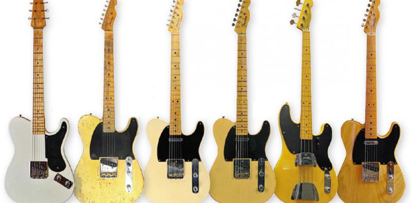 Guitarras Fender e Leo Fender: a criatura e seu criador