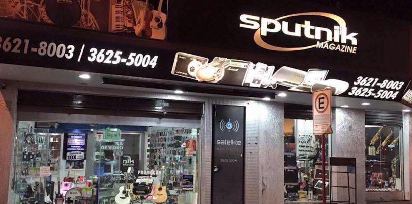 Produtos e assistência técnica na Sputnik Magazine