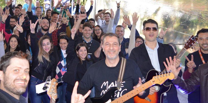 Harman do Brasil participou do Make Music Day 2018