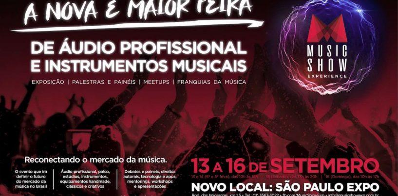Music Show Experience: Evento discutirá o futuro do comércio da música, áudio e instrumentos no Brasil