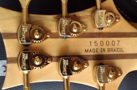Handmade: Wood lançará baixo T-Rex P51 na Music Show