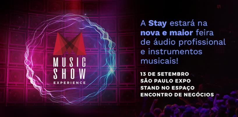 Stay Music lança linha Start na Music Show