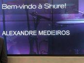 Shure do Brasil contrata Alexandre Medeiros