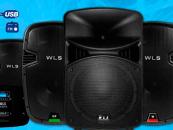 Novos modelos da WLS na Music Show