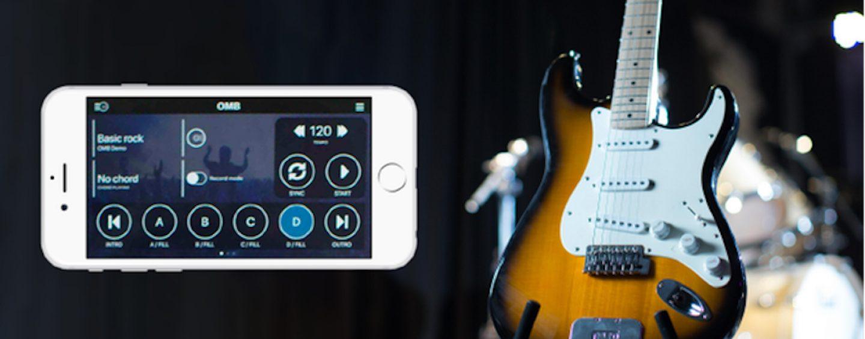 Solução de guitarra e app OneManBand (OMB)