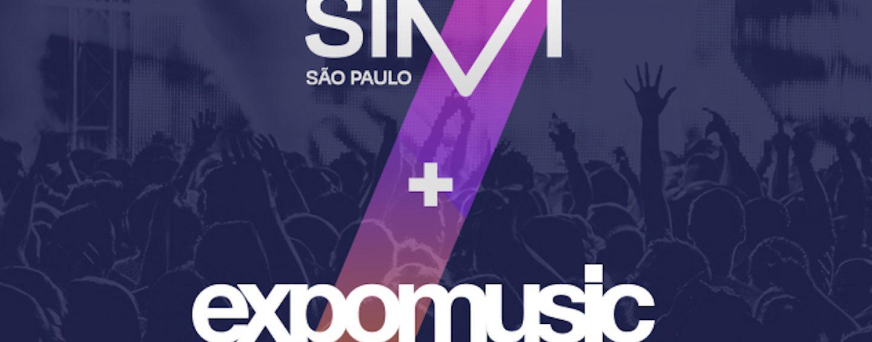 Expomusic e SIM São Paulo viram parceiras