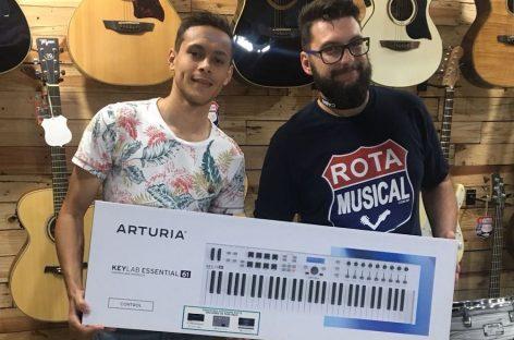 Arturia com a Rota Musical em Votuporanga-SP
