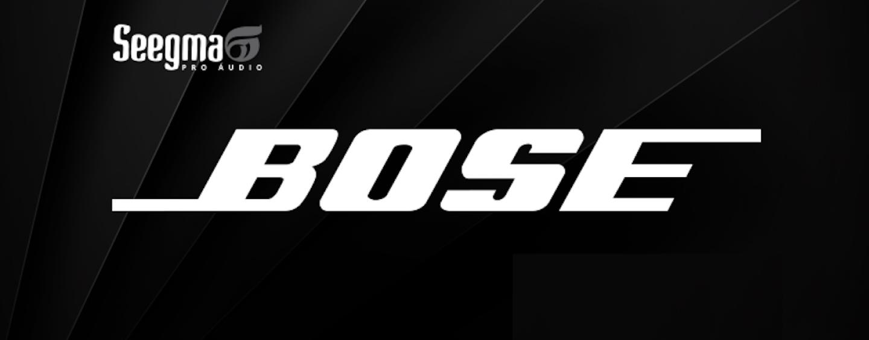 Seegma Pro Audio apresentará novos sistemas da Bose no Brasil e terá palco especial na Music Show