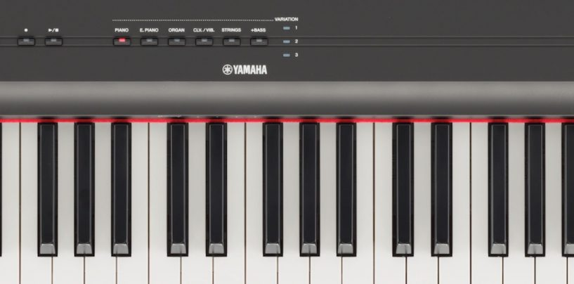 Hayamax levará piano Yamaha P-125 para a Music Show