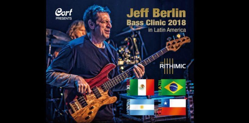 Jeff Berlin passará pelo Brasil em outubro