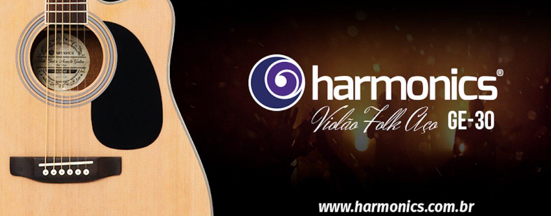 Violão Harmonics GE-30 Folk Eletroacústico Aço – A Harmonia entre qualidade e custo-benefício