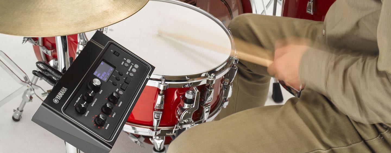 Veja o Yamaha EAD10 no estande da Hayamax na Music Show