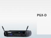 Sistema sem fio Shure PGX-D