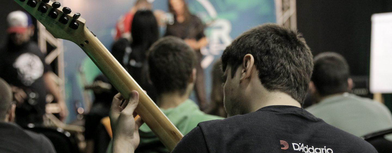 D'Addario presente em eventos para guitarristas