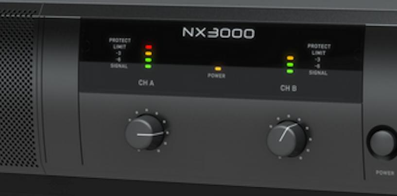 Behringer traz o amplificador NX3000