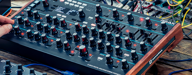 Conheça o sintetizador Peak da Novation