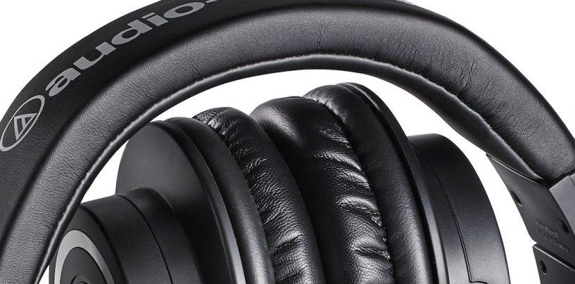 Audio-Technica lança fones de ouvido extra-auriculares sem fio ATH-M50xBT com tecnologia Bluetooth