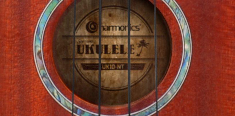 Ukulele Soprano Uk-10 da Harmonics