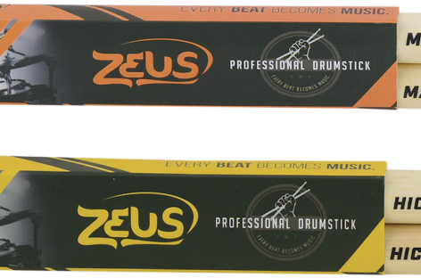 Conheça as Baquetas Zeus do Grupo Renaer
