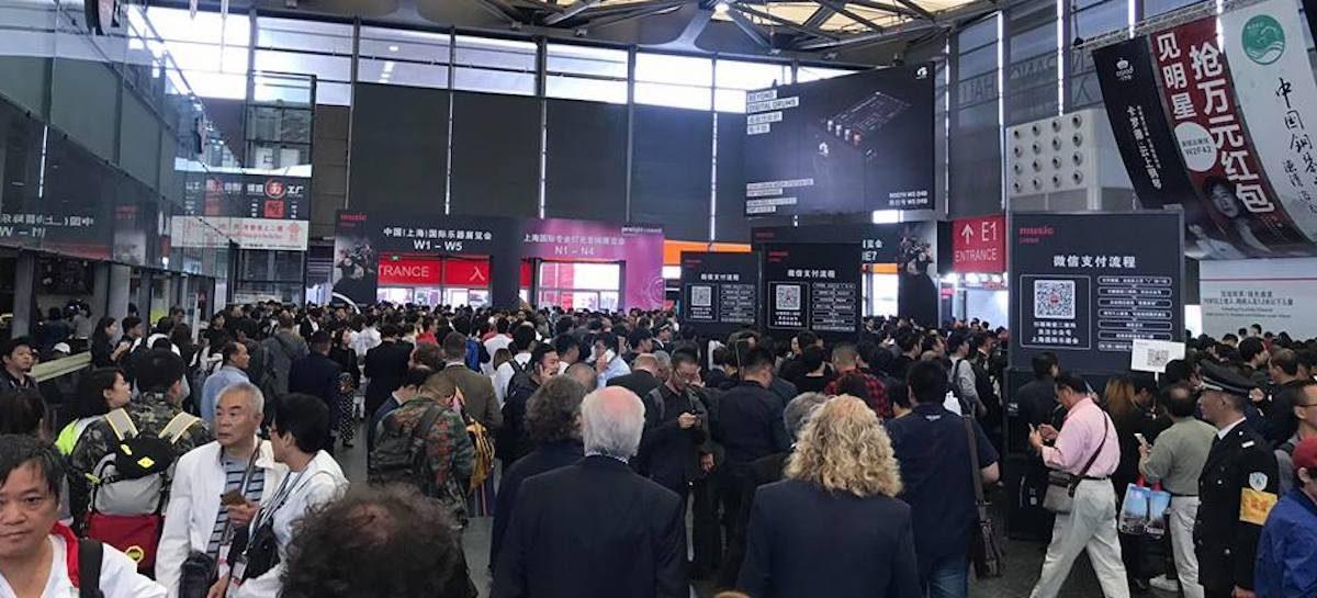 Music China 2018 se afirma como a principal feira de instrumentos da Ásia