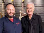 Fender lança guitarras de Jimmi Page, do Led Zeppelin