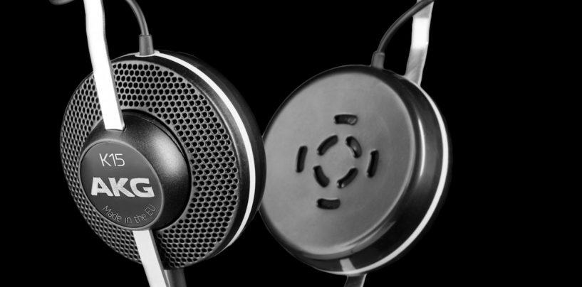 AKG apresenta fone de ouvido AKG K15