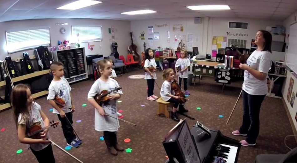 ensino da musica criancas