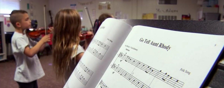 Escolas com ensino de música alavancam as notas de alunos