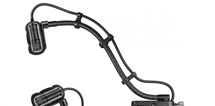 NAMM Show 2019: Novos sistemas de microfone condensador cardioide para instrumentos ATM350a da Audio-Technica