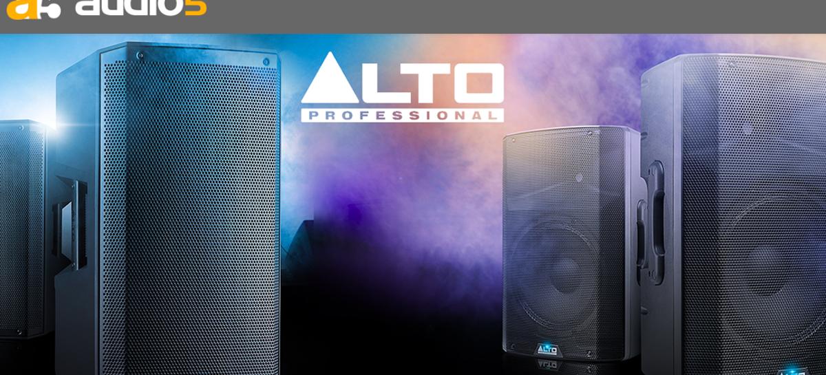 Audio5 é o distribuidor oficial da marca Alto Professional no Brasil