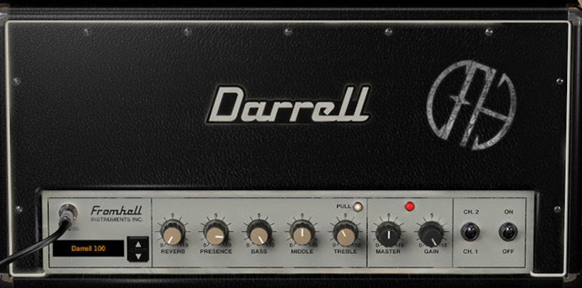IK Multimedia apresenta a Dimebag Darrell CFH Collection para AmpliTube