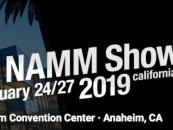 Hoje começa a edição 2019 do NAMM Show!