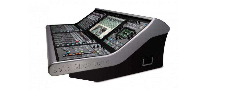 SSL anuncia novas mesas SSL Live L350 e L550