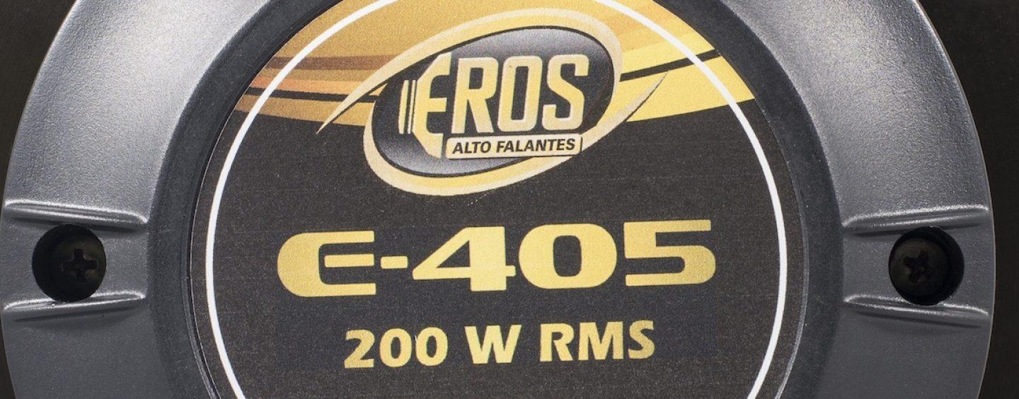 Conheça o driver E-405 da Eros Alto-Falantes