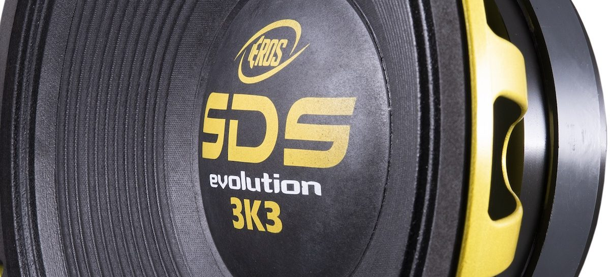 Woofer E-15 SDS 3K3 da Eros Alto-Falantes