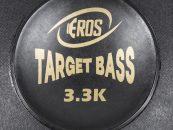 Novo alto falante E-15 Target Bass 3.3K da Eros