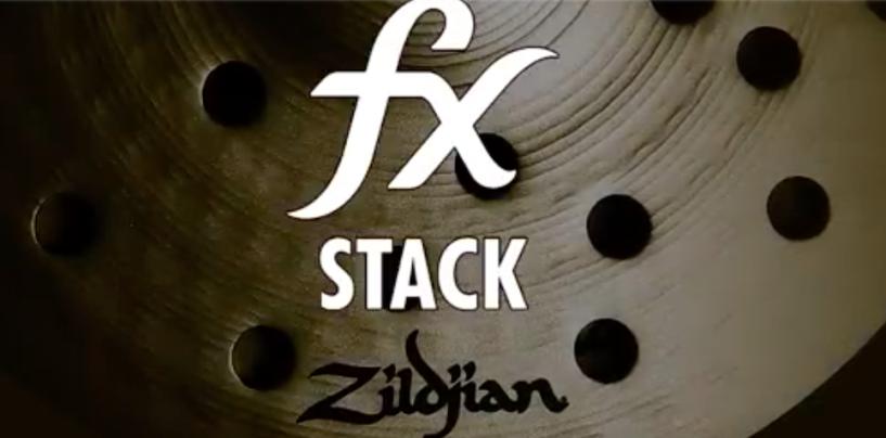 """Zildjian apresenta novos pratos fx Stack e 22"""" fx Oriental Crash of Doom"""