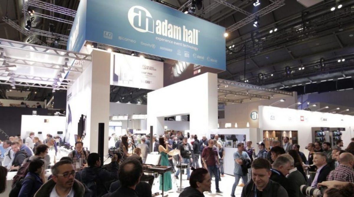Novos produtos do Adam Hall Group na feira Prolight + Sound 2019