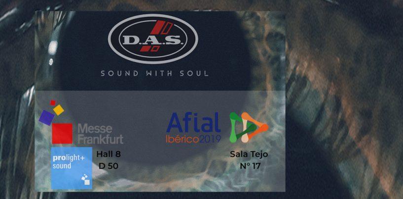 DAS Audio apresenta produtos em próximas feiras europeias