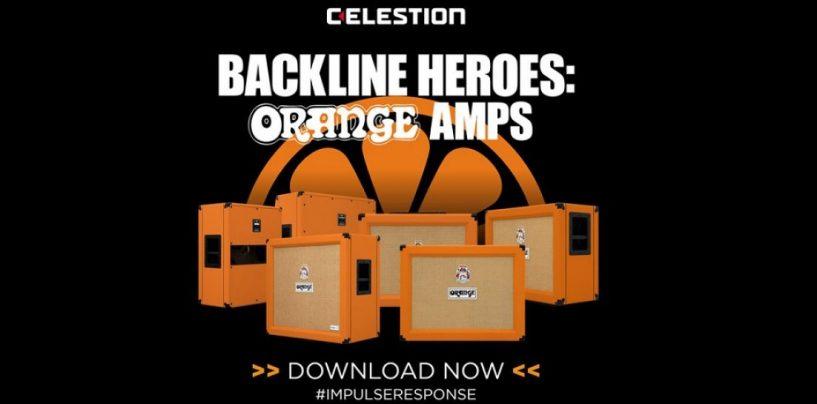 Celestion apresenta os novos Impulse Responses da Orange Amps